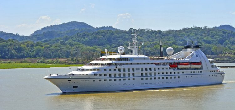 Windstar Ship in Panama Canal and Latin America