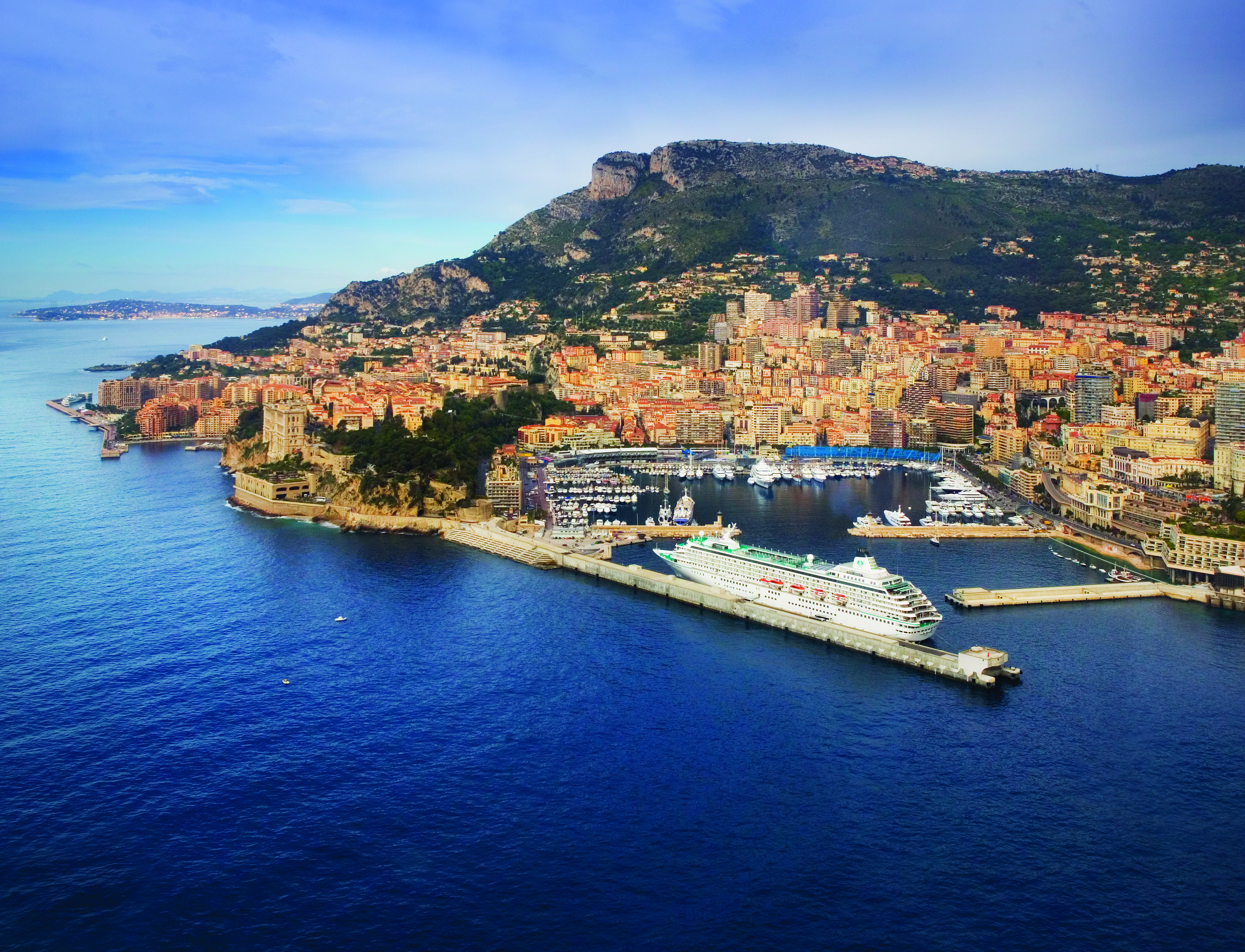 Crystal Symphony in Monte Carlo
