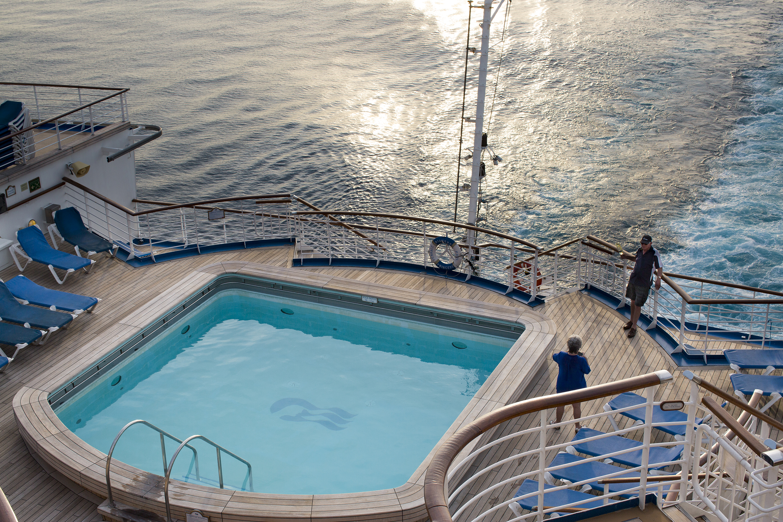 Aft Pool, Diamond Princess