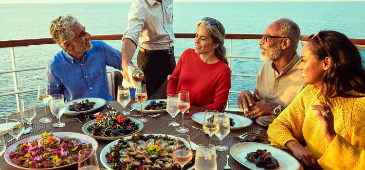 Seabourn Set Sail Event - Group Dining