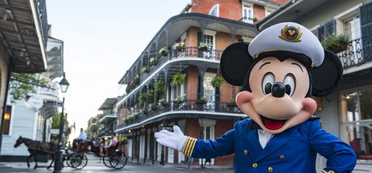 Mickey Mouse in New Orleans