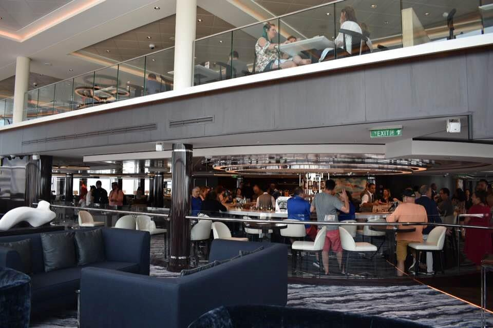 Enjoyable Observation Lounge On The Ncl Bliss I Love Cruising Pdpeps Interior Chair Design Pdpepsorg