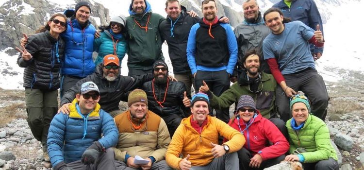 Silversea Antarctica Expedition Team Trains in the Andes